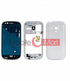Full Body Housing Panel Faceplate For  Samsung Galaxy S3 mini White