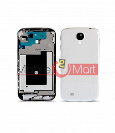Full Body Housing Panel Faceplate For Samsung Galaxy S4 White