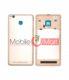 Full Body Housing Panel Faceplate For Xiaomi Redmi 3S Prime Gold