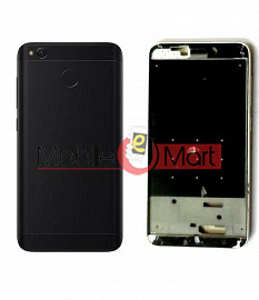 Full Body Housing Panel Faceplate For Xiaomi Redmi 4 Black