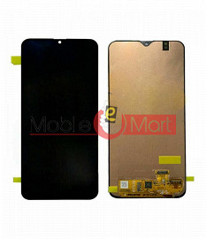 Lcd Display With Touch Screen Digitizer Panel Combo Folder Glass For Samsung Galaxy A20 Black