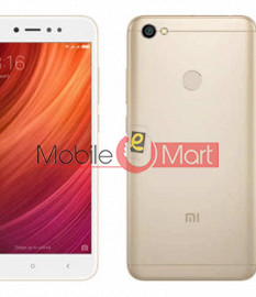 Back Panel For Mi Redmi Y1 Gold