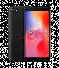 Back Panel For Xiaomi Redmi 6A Black