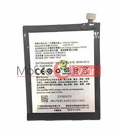 Mobile Battery For Oppo F1 black