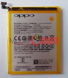 Mobile Battery For Oppo F5 black