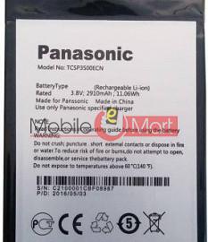 Mobile Battery For Panasonic Eluga A2 black