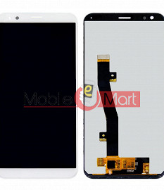 Lcd Display With Touch Screen Digitizer Panel Combo Folder Glass For InFocus Vision 3 (White)