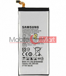 Mobile Battery For Samsung Galaxy A5 black