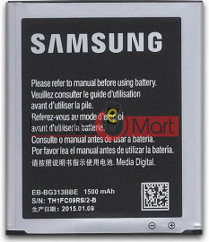 Mobile Battery For Samsung G313 black