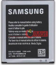 Mobile Battery For Samsung G313 black