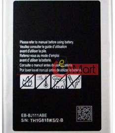 Mobile Battery For Samsung Galaxy J1 Ace SM-J110 black