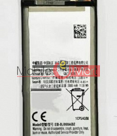 Mobile Battery For Samsung Galaxy J8 black