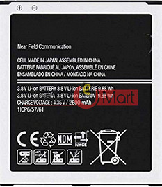 Mobile Battery For Samsung Galaxy Note black