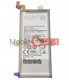 Mobile Battery For Samsung Galaxy Note 8 black