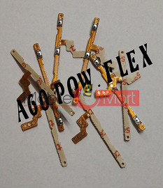 Power On Off Volume Button Key Flex Cable For Samsung Galaxy A60