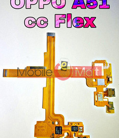 Charging Connector Port Flex Cable For OPPO A51
