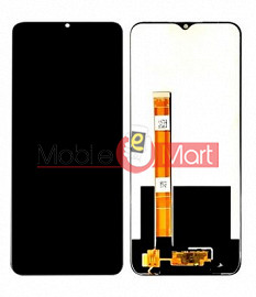 Lcd Display With Touch Screen Digitizer Panel For Realme 5i