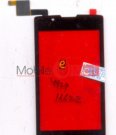 Touch Screen Digitizer For Intex Cloud 3G Candy