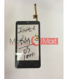 Touch Screen Digitizer For Intex Aqua R4