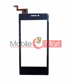Touch Screen Digitizer Glass For Intex Cloud Y17+
