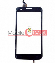 Touch Screen Digitizer Front Glass For Intex Aqua i6