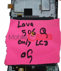 Lcd Display Screen For Lava Iris 506Q