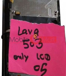 Lcd Display Screen For Lava Iris 503