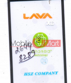 Touch Screen Digitizer For Lava Iris X8