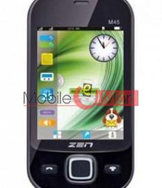 Touch Screen Digitizer For Zen Flikk M45