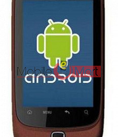 Touch Screen Digitizer For Spice Mi-310 - Dark Red