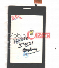 Touch Screen Digitizer For Spice Flo M-5917 - Black