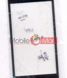 Touch Screen Digitizer For Spice Mi-549 - Black
