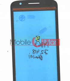 Touch Screen Digitizer For  Spice Mi-525 Pinnacle FHD