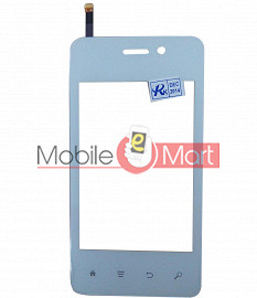 Touch Screen Digitizer For Spice Smart Flo Mettle 3.5x Mi356