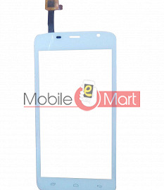Touch Screen Digitizer For Spice Mi504 Smart Flo Mettle 5x