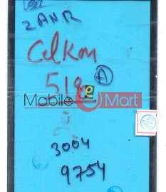 Touch Screen Digitizer For Celkon A518