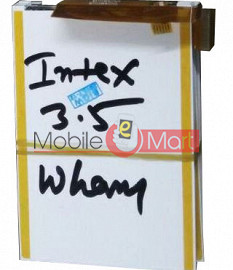Lcd Display Screen Replacement For Intex Turbo 3.5