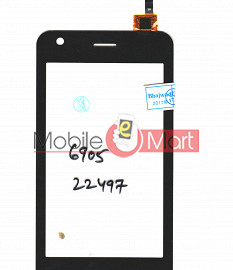 Touch Screen Digitizer For Lyf Flame 2 LS 4004