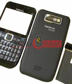 Full Body Panel Faceplate Housing For Nokia E63 Mobile Phone