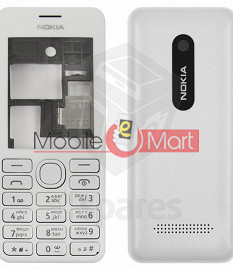 Nokia Asha 206 Mobile Phone Full Body Panel Housing Fascia Faceplate