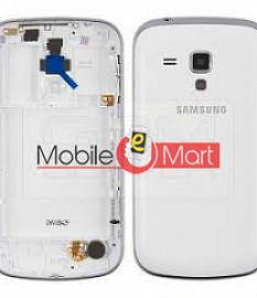 Android Back Panel With Chrome Border For Samsung Galaxy Grand 2 G7102