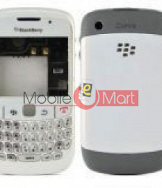 Full Body Panel Housing  for Blackberry Curve 8520 - White