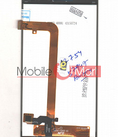 Lcd Display+Touch Screen Digitizer Panel For Lava Iris Fuel F1