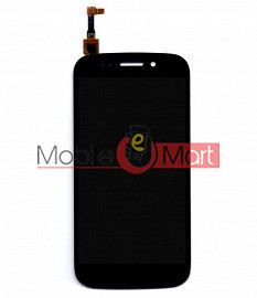 Lcd Display With Touch Screen Digitizer Panel For Micromax Canvas 4 A210