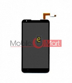 Lcd Display With Touch Screen Digitizer Panel For Micromax A109 Canvas XL2 (Black)