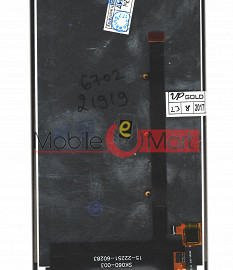 Lcd Display With Touch Screen Digitizer Panel For Micromax Canvas Mega 2 Q426