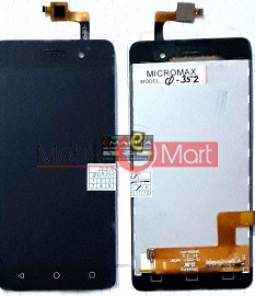 Lcd Display+Touch Screen Digitizer Panel For Micromax Bolt supreme 4 Q352