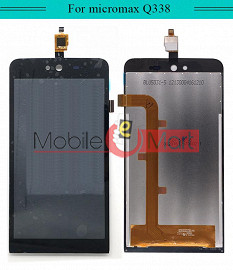 Lcd Display+Touch Screen Digitizer Panel For Micromax Bolt Q338