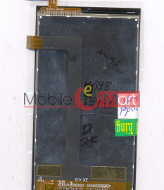 Lcd Display+Touch Screen Digitizer Panel For Micromax Canvas Fire 3 A096