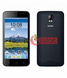 Lcd Display With Touch Screen Digitizer Panel For Intex Aqua Q1